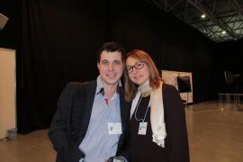 Лариса Дахно и Кожемяк Александр на Втором Международном Симпозиуме Цифровой Стоматологии