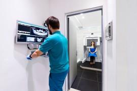КЛКТ нижней челюсти на томографе i-CAT Gendex CB-500
